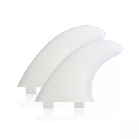 Trailer fins, side bite fins, softy fins, softboard fins.